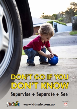 Driveway Safety Poster