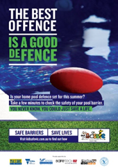 Safe Barriers Save Lives A3 poster