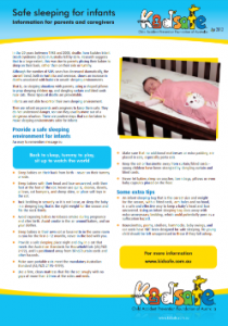 Safe Sleeping Brochure